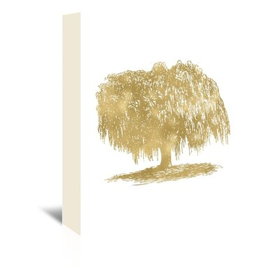 Americanflat 'Weeping Willow Tree' by Amy Brinkman Graphic Art Wrapped on Canvas