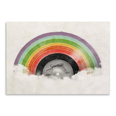 Americanflat 'Rainbow Classic' by Florent Bodart Graphic Art
