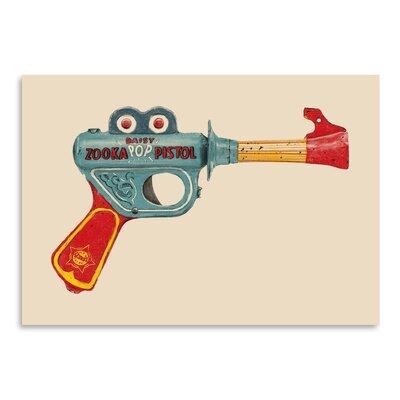 Americanflat 'Zooka' by Florent Bodart Graphic Art