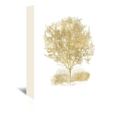 Americanflat 'Olive Tree' by Amy Brinkman Graphic Art Wrapped on Canvas in White
