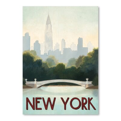 Americanflat 'New York' by Marco Fabiano Vintage Advertisement