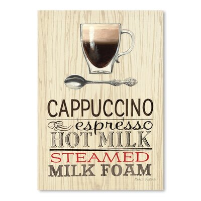 Americanflat 'Cappuccino Espresso' by Marco Fabiano Vintage Advertisement