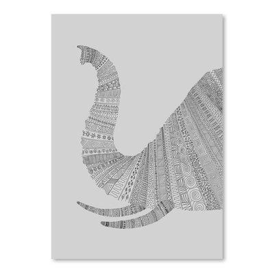 Americanflat 'Elephant Grey' by Florent Bodart Graphic Art