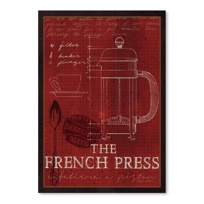 Americanflat 'The French Press' by Marco Fabiano Vintage Advertisementhic