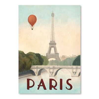 Americanflat 'Paris' by Marco Fabiano Vintage Advertisement