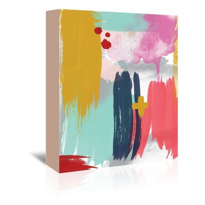 Americanflat 'Abstract 5 01' by Amy Brinkman Art Print Wrapped on Canvas