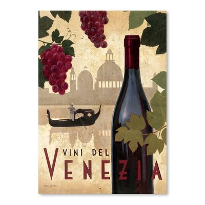 Americanflat 'Vine Del Vinezia' by Marco Fabiano Vintage Advertisement