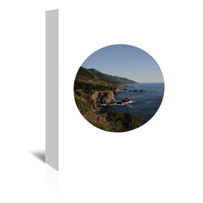 Americanflat 'Big Sur Circle' by Jetty Printables Photographic Print Wrapped on Canvas