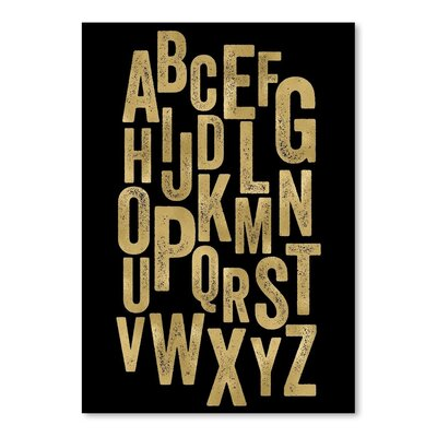 Americanflat 'Alphabet' by Amy Brinkman Typography