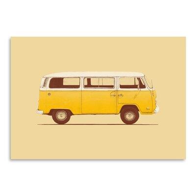 Americanflat 'Van' by Florent Bodart Graphic Art