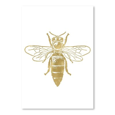 Americanflat 'Bumblebee' by Amy Brinkman Graphic Art