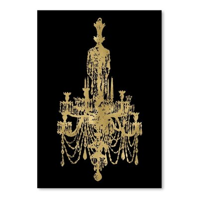 Americanflat 'Chandelier ' by Amy Brinkman Graphic Art