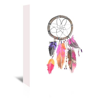 Americanflat 'Dreamcatcher 3' by Jetty Printables Art Print Wrapped on Canvas