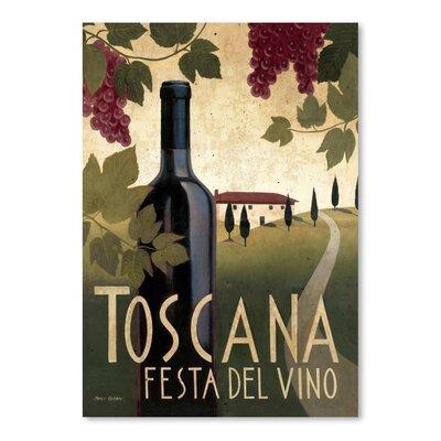 Americanflat 'Toscana Festa Del Vino' by Marco Fabiano Vintage Advertisement