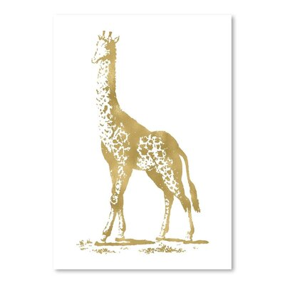 Americanflat 'Giraffe' by Amy Brinkman Graphic Art