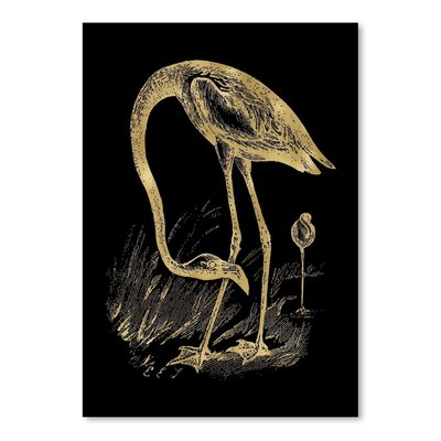 Americanflat 'Flamingo 1' by Amy Brinkman Graphic Art