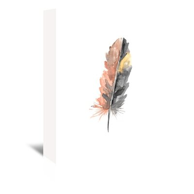 Americanflat 'Feather 1' by Jetty Printables Art Print Wrapped on Canvas