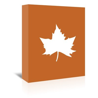 Americanflat 'Leaf' by Jetty Printables Graphic Art Wrapped on Canvas