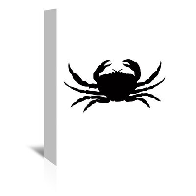 Americanflat 'Crab' by Jetty Printables Graphic Art Wrapped on Canvas