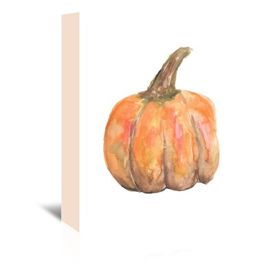 Americanflat 'Pumpkin' by Jetty Printables Art Print Wrapped on Canvas