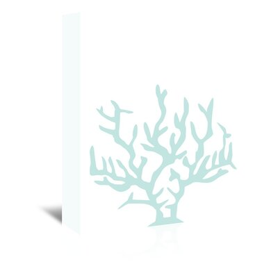 Americanflat 'Mint Coral' by Jetty Printables Graphic Art Wrapped on Canvas