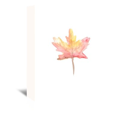 Americanflat 'Watercolour 4 Leaf' by Jetty Printables Art Print Wrapped on Canvas