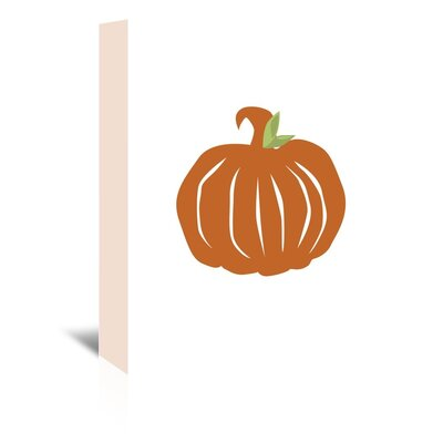 Americanflat 'Pumpkin' by Jetty Printables Graphic Art Wrapped on Canvas