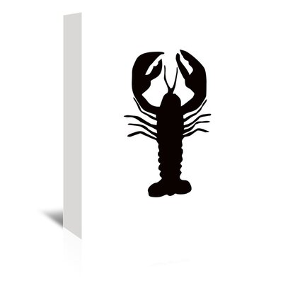Americanflat 'Lobster' by Jetty Printables Graphic Art Wrapped on Canvas