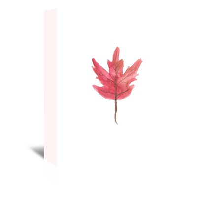 Americanflat 'Watercolour 3 Leaf' by Jetty Printables Art Print Wrapped on Canvas