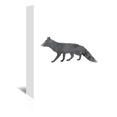 Americanflat 'Fox' by Jetty Printables Graphic Art Wrapped on Canvas