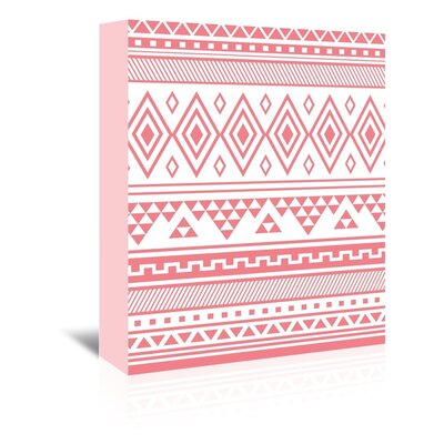 Americanflat 'Coral Tribal' by Jetty Printables Graphic Art Wrapped on Canvas