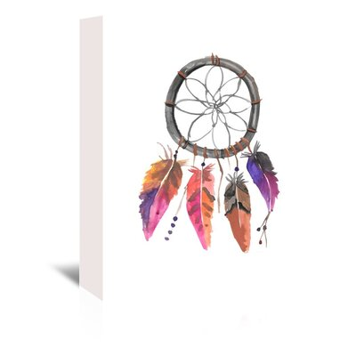 Americanflat 'Dreamcatcher 2' by Jetty Printables Art Print Wrapped on Canvas