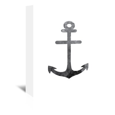 Americanflat 'Anchor' by Jetty Printables Graphic Art Wrapped on Canvas