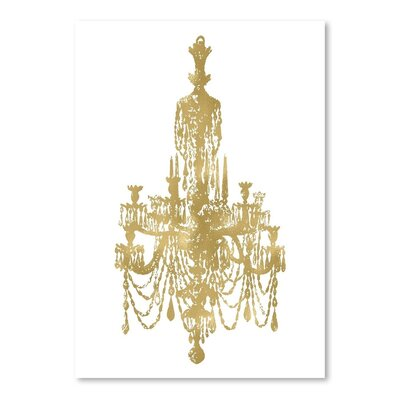 Americanflat 'Chandelier' by Amy Brinkman Graphic Art