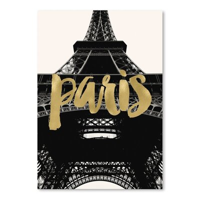 Americanflat 'Paris Eiffel Tower Photo' by Amy Brinkman Graphic Art