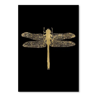Americanflat 'Dragonfly' by Amy Brinkman Graphic Art