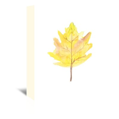 Americanflat 'Leaf 2' by Jetty Printables Art Print Wrapped on Canvas