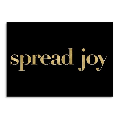 Americanflat 'Spread Joy' by Amy Brinkman Typography