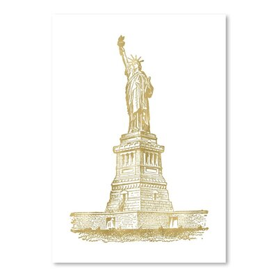 Americanflat 'Statue of Liberty' by Amy Brinkman Graphic Art
