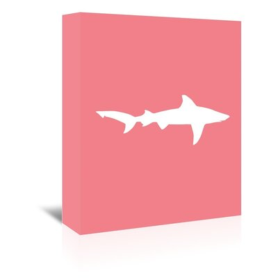 Americanflat 'Coral White Shark' by Jetty Printables Graphic Art Wrapped on Canvas
