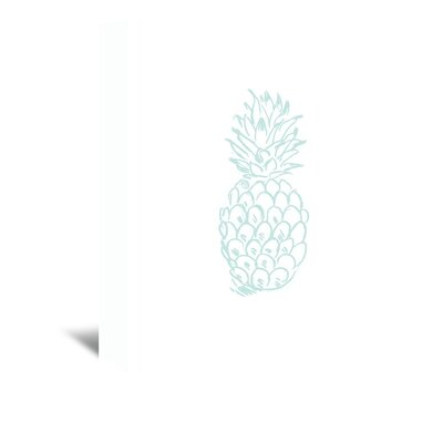 Americanflat 'Mint Pineapple' by Jetty Printables Graphic Art Wrapped on Canvas