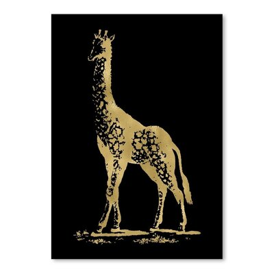 Americanflat 'Giraffe' by Amy Brinkman Graphic Art
