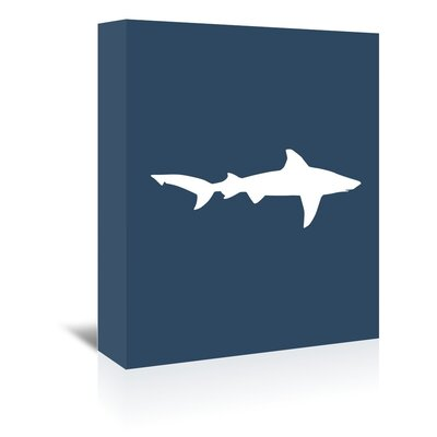 Americanflat 'Shark' by Jetty Printables Graphic Art Wrapped on Canvas