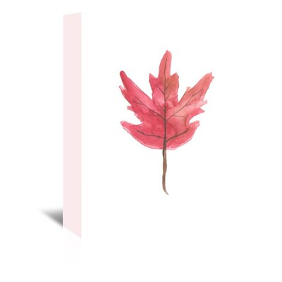 Americanflat 'Leaf 3' by Jetty Printables Art Print Wrapped on Canvas