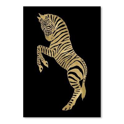 Americanflat 'Zebra' by Amy Brinkman Graphic Art