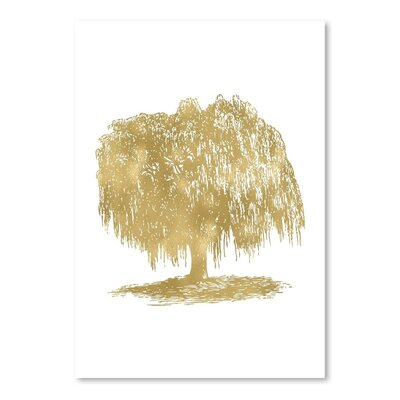 Americanflat 'Weeping Willow Tree' by Amy Brinkman Graphic Art