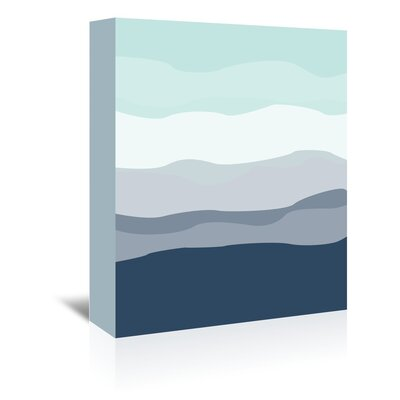 Americanflat 'Abstract' by Jetty Printables Graphic Art Wrapped on Canvas