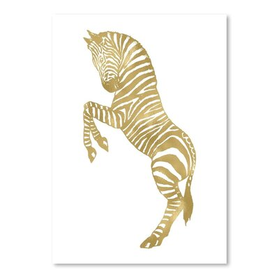 Americanflat 'Zebra' by Amy Brinkman Graphic Art