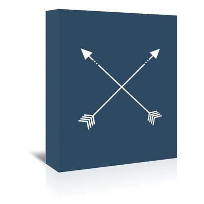 Americanflat 'Arrow' by Jetty Printables Graphic Art Wrapped on Canvas