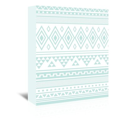 Americanflat 'Mint Tribal' by Jetty Printables Graphic Art Wrapped on Canvas